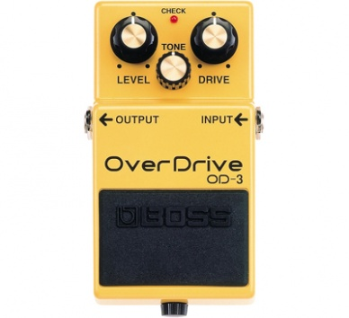 Boss OD3 - overdrive seminovo