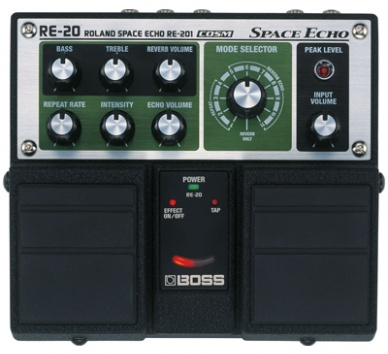 Boss RE 20 Multihead Tape Delay and Reverb