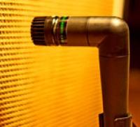 Captar uma coluna de guitarra